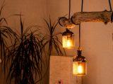 Lampe Aus Treibholz Und Alten Gin Flaschen Monkey 47 Made pertaining to sizing 1280 X 720