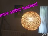 Lampe Lampenschirm Selber Machen Basteln Fr Anfnger Diy throughout dimensions 3000 X 1687