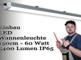 Led Leuchte Fr Garage Carport 150cm Montage Und Installation in proportions 1920 X 1080