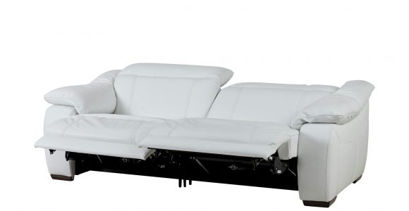 Ledersofa Mit Relaxfunktion Wei Leder Unika within dimensions 2000 X 1222