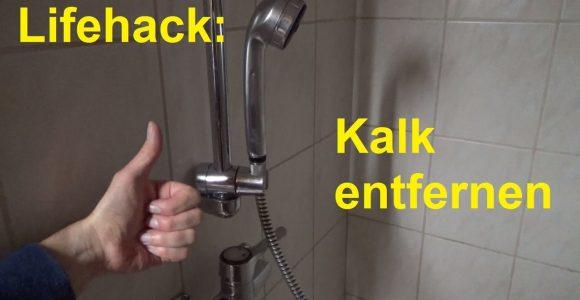 Lifehack Kalk Entfernen Im Badezimmer In Der Dusche Badewanne within proportions 1280 X 720