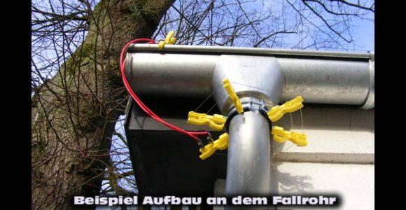 Marderabwehr Waschbr Electric Fence Elektrozaun Fg025 Kemo with regard to measurements 1280 X 720