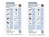 Marley Dachrinne Rg 75 Set Kunststoff Rinne Regenrinne Verschiedene in measurements 1000 X 1000