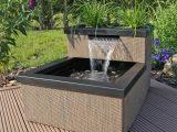 Miniteich Set Terrassenteich Balkonteich Mit Wasserfall Zimmerteich throughout proportions 1000 X 1000