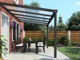 Moderne Terrassenberdachung In Matt Anthrazit 506 X 3 Meter Mit throughout proportions 1280 X 720