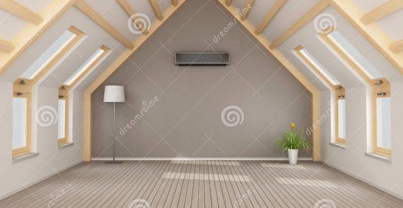Moderner Dachboden Ohne Mbel Stock Abbildung Illustration Von for proportions 1300 X 863