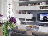 Moderner Wohnzimmer Anstrich Ideen Wohnzimmer Streichen Graue throughout proportions 1024 X 1496