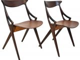 Niels Olsen Mobel Pair Of Mid Century Modern Danish Teak Chairs for proportions 2363 X 2363