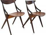 Niels Olsen Mobel Pair Of Mid Century Modern Danish Teak Chairs for proportions 2363 X 2363