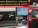 Notebook Bildschirm Schwarz Display Zerlegen Externen Monitor regarding size 1280 X 720