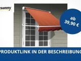 Outsunny Alu Markise Klemmmarkise Fenster Sonnenschutz 122 X 70 Cm in sizing 1280 X 720