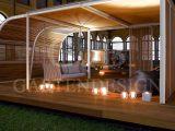 Pavillon Gartensauna Whirlpool Gempp Gartendesign with proportions 1721 X 1079
