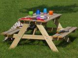 Plus Kindersitzgruppe Garten Holz Kindertisch Fr Drauen 4 Sitzer inside measurements 1240 X 907
