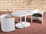 Poly Rattan Balkon Sitzgruppe Bayamo Rattan Gartenmbel Set 2 throughout proportions 1200 X 800