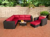 Poly Rattan Gartenmbel Lounge Set Ariano Schwarz Garten Loungembel throughout sizing 1200 X 800