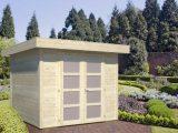 Pultdach Gartenhaus Lara 60 M Gre 250 X 250 M regarding proportions 2000 X 1500