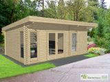Pultdach Gartenhaus York 26 Gartenhaus Kingde pertaining to dimensions 1200 X 900