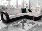Sam Ecksofa Wei Schwarz Couch Onda L 236 X 180 Cm within proportions 1288 X 775