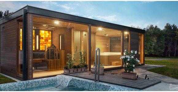 Saunahaus Garten 62897 Gartensauna Luxus Saunahaus Finnische within dimensions 1903 X 893