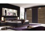 Schlafzimmer Mit Bett 180 X 200 Cm Columbia Nussbaum Schwarz Matt in dimensions 1250 X 875
