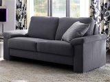 Sofa Mobile 2 Sitzer Stoff Dunkelgrau Breite 182 Cm inside sizing 1500 X 844
