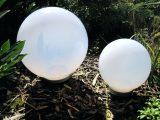 Solar Gartenleuchten 29 Und 29cm Led Kugel Lampe Gartenlampe in size 3142 X 2484