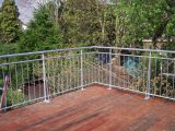 Stahlgelnder Fr Terrasse Angebaut Frbel Metallbau with size 1600 X 1200