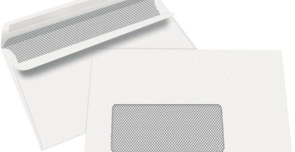 Staples Briefumschlag C6 162 X 114 Mm Sichtfenster Selbstklebend inside sizing 1000 X 1000