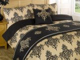 Stepp Bettdecke Bettwsche Bed In A Bag Gold Einzelbett Doppelbett regarding sizing 1000 X 1000