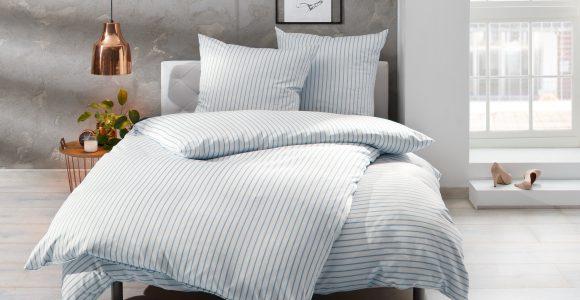 Streifen Bettwsche Blau Wei Bettwaesche Mit Stil inside size 2560 X 2007