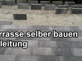 Terrasse Bauen Schritt Fr Schritt Anleitung Steinterrasse inside dimensions 1280 X 720