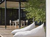 Terrasse Einrichten 55 Ideen Mit Poufs Und Sitzkissen throughout size 800 X 1066