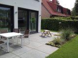 Terrasse Mit Grossformat Platten Righini Garten Und in dimensions 3264 X 2448