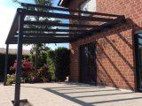 Terrassenberdachung Alu 10mm Sicherheitsglas Vsg Glas Klar 10m for size 1600 X 1195