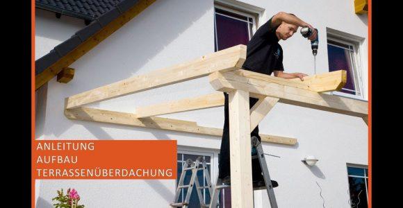 Terrassenberdachung Aus Holz Terrassendach Selber Bauen regarding size 1280 X 720