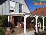 Terrassenberdachung Berdachung Terrassendach 5×3 Leimholz Holz throughout sizing 1280 X 960