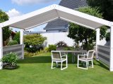 Terrassenberdachung Freistehend Im Garten Zuhause throughout measurements 1500 X 986