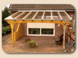 Terrassenberdachung Glas Vsg Und Holz Bausatz Von Holzon with regard to dimensions 2048 X 1536