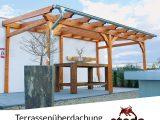 Terrassenberdachung Holz Leimholz 6×4 M 600×400 Cm Freistehend within size 1000 X 1000