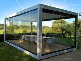Terrassenberdachung Melano Freistehend Glashaus Pergola with measurements 1600 X 900