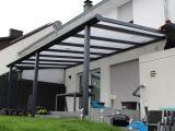 Terrassenberdachung Mit 16mm Polycarbonatplatten Bek Bauelemente for proportions 1920 X 1280