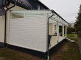Terrassenberdachung Mit Markise Wei Lackiert 1 Sauerland with regard to proportions 1920 X 1440
