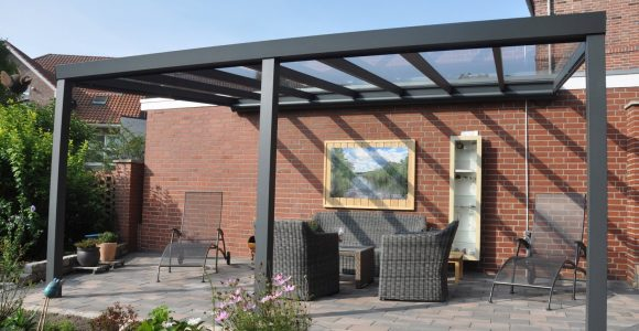 Terrassenberdachung Struktur Anthrazit Vs Glas 500 X 400 Cm Kaufen with measurements 1500 X 1500