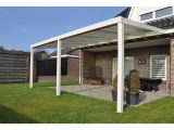 Terrassenberdachung Wei Polycarbonat Klar 500 X 350 Cm Kaufen Bei Obi regarding measurements 1500 X 1500