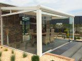 Terrassendach Zum Ffnen Glasschiebetren Glasschiebedach inside proportions 1400 X 940