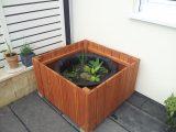 Terrassenteichminiteich Hausgarten for proportions 2852 X 2139