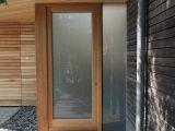 Tischlerei Ecker Industrie Garagentor Angepasst An Holzfassade within proportions 800 X 1067
