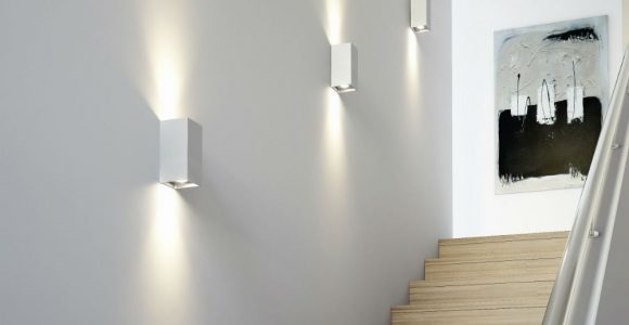 Tresol Bloc Applique Murale Led Argent Osram Interiors with regard to dimensions 1000 X 1000