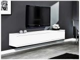 Tv Mbel Eiche Massiv Neu Tv Lowboard Wei Hochglanz Hngend intended for proportions 1200 X 900