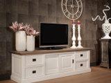 Tv Schrank Lowboard Wei Im Landhausstil Breite 200 Cm with regard to size 1000 X 1001